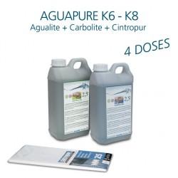 Mini kit entretien affineur d'eau Aguapure K6 pour 2 ans