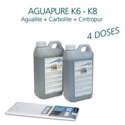 Mini-kit maintenance water refiner Aguapure K6 for 2 years