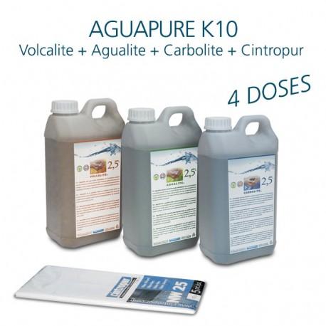 Mini kit entretien affineur d'eau dynamique Aguapure K10 pour 2 ans