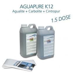 Mini-kit maintenance water refiner Aguapure K12 for 1.5 years