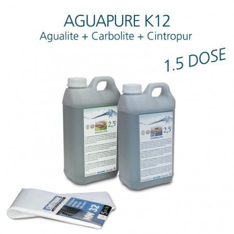 Mini kit entretien affineur d'eau Aguapure K12 pour 1,5 ans