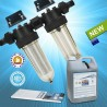 Special offer Cintropur NW25 DUO-CTN water filter with 5L Carbolite activated carbon and 5 filtering cuffs