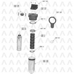 Global spare parts of Cintropur Smart Line range SL160 and SL240