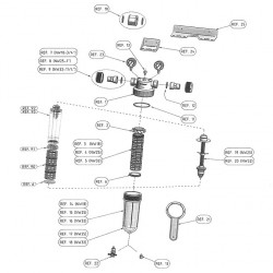 Accessories and spare parts Cintropur domestic