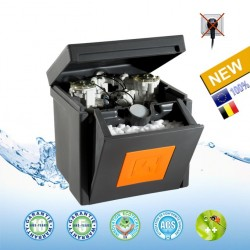 The water softener Eco Morava combines efficiency, compactness, economy and ecology