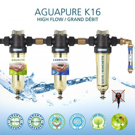 Refiner water Aguapure K16 ecological economical