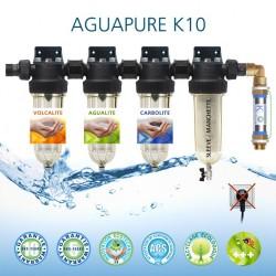 Affineur d'eau Aguapure K10 dynamisation anticorrosion écologique