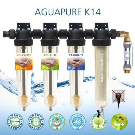 Affineur d'eau Aguapure K14 dynamisation anticorrosion écologique