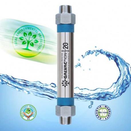 Anticorrosion antitartre GALVAC 20 réacteur par électrolyse galvanique