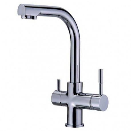 Faucet-mixer tap 3-ways FORUM MF chrome