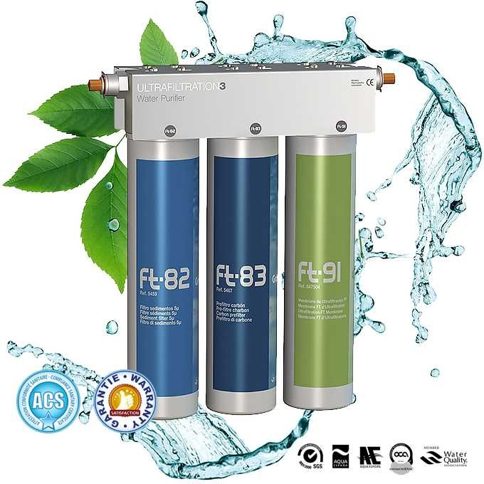 Ft Line 3 Basic Water Purifier By Filtration And By