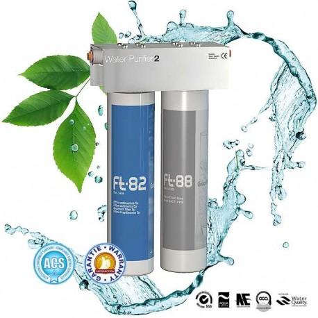 Ft Line 2, duo filtre à eau complet