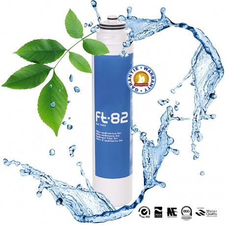 Cartouche Ft-Line 82 Préfiltration de l'eau à 5 µm, débit de 3,7 litres par minute