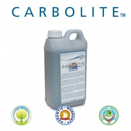 Bidon de charbon actif Carbolite en bidon de 2,5L