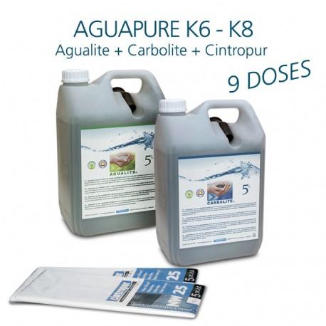 Kit entretien affineur d'eau Aguapure K6 pour 4 ans