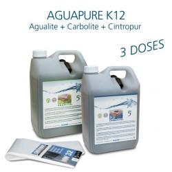 Kit d'entretien affineur d'eau Aguapure K12 pour 3 ans