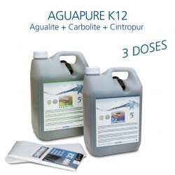 Maintenance kit water refiner Aguapure K12 for 3 years