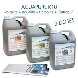 Kit entretien affineur d'eau dynamiseur Aguapure K10