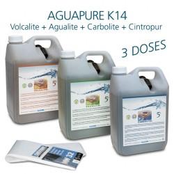 Kit entretien pour affineur d'eau Aguapure K14 dynamisation