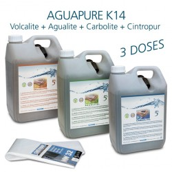 Maintenance kit for water refiner Aguapure K14 dynamize