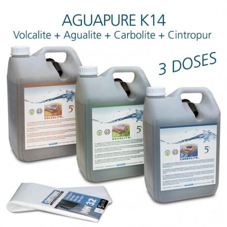 Maintenance kit for water refiner Aguapure K14 dynamize