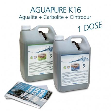 Kit entretien 1 an pour affineur d'eau Aguapure K16