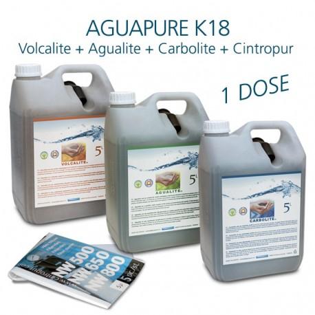 Kit entretien pour affineur d'eau Aguapure K18 dynamisation anticorrosion