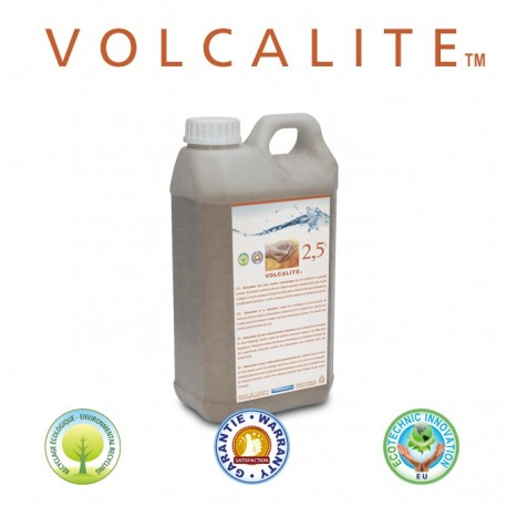 Volcalite volcanic rock in 2.5L hermetic container with tamperproof cap