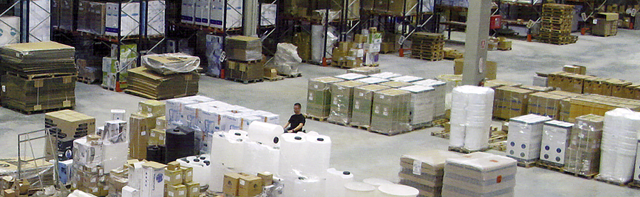 Our warehouse logistics in Spain