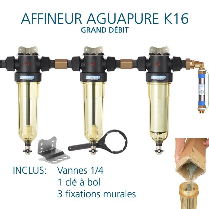 Aguapure K14 installation standard