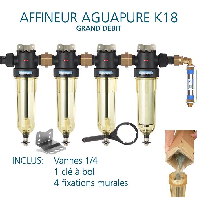 Aguapure K18 installation standard