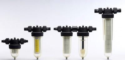 Cintropur filtres à eau de la gamme domestique