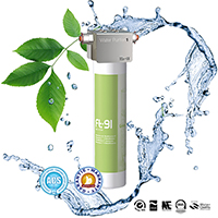 Purification of water by the FT Line 91 ultrafiltration system which replaces Cintroclear AC 110