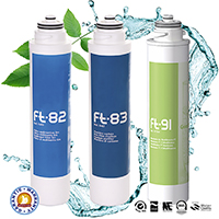 Maintenance kit for Ft Line 3, water purifier by filtration and by ultrafiltration