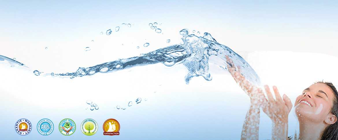 Water softeners, ecological anti-scale, water filters, water purifiers UV ultrafiltration and reverse osmosis