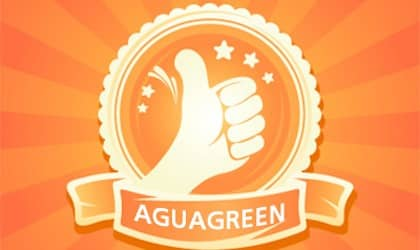 Reviews and written comments that were posted by customers Aguagreen