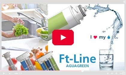 Paying less for the purification of tap water in the kitchen for a better result is possible with the FT Line range