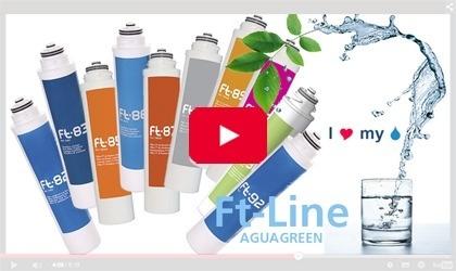 FT-Line range of cartridges available for maintenance of filters and water purifiers FT Line
