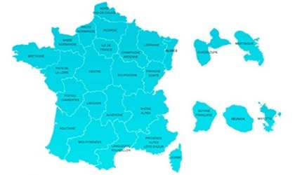 Government website in France publishing the water analysis