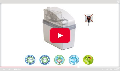 Short video presentation of the range of water softeners ECO Delta Simplex Duplex